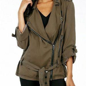 Blank nyc military zip jacket